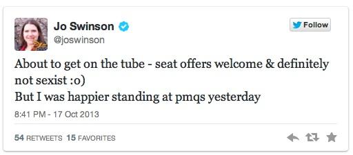 tweet Jo Swinson