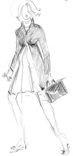 Grossesse et droit du travail - Silhouette ©BabyBuzz.fr par Danielle Peufaillit