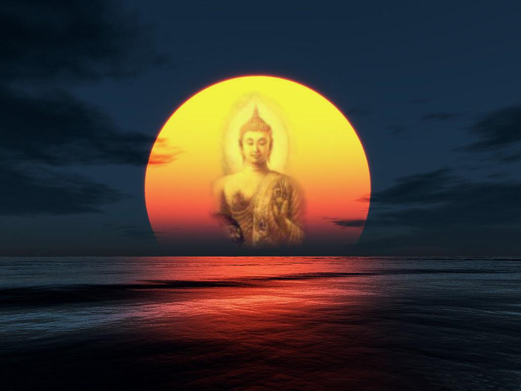 Bouddha soleil