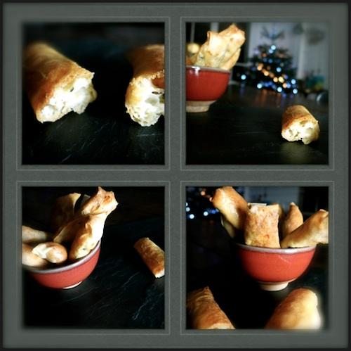 Recette de Cigares - Brick de chèvre, thym et poires - ©BabyBuzz.fr
