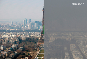Pollution particules fines - ©Lemonde.fr