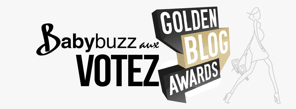 BabyBuzz aux Gloden Blog Awards 2014 #GBA5